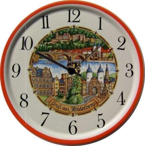 Souveniers und Uhren aus Keramik, Kristall oder Glas